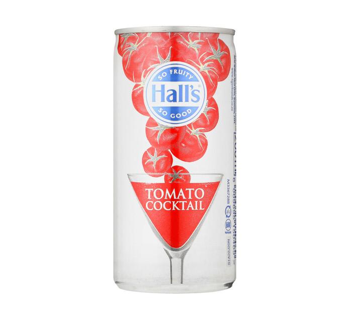 Halls Tomato Juice Cocktail (24 x 200ml)
