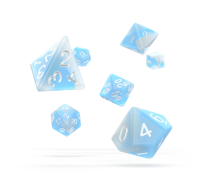 RPG Set Glow in the Dark - Arctic (7)