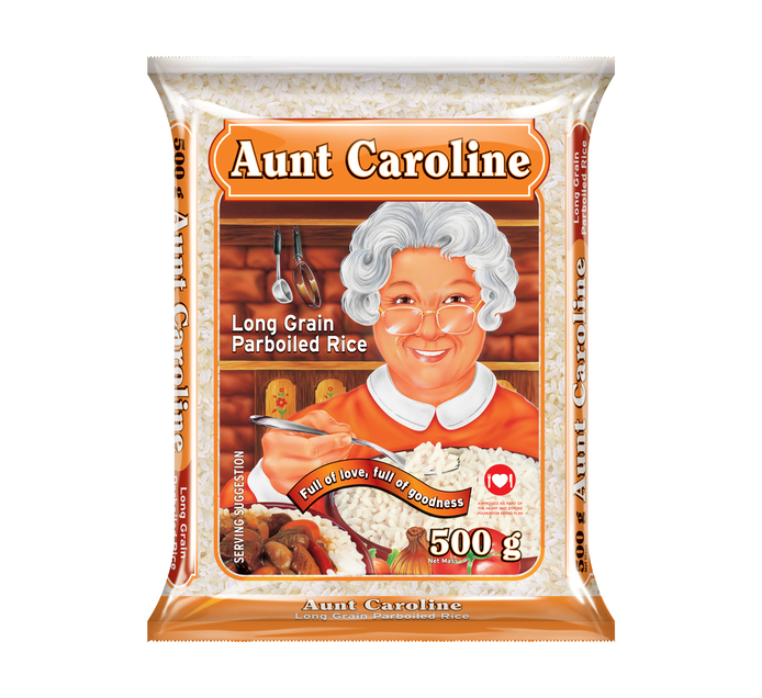 Aunt Caroline Parboiled Rice (40 x 500g)