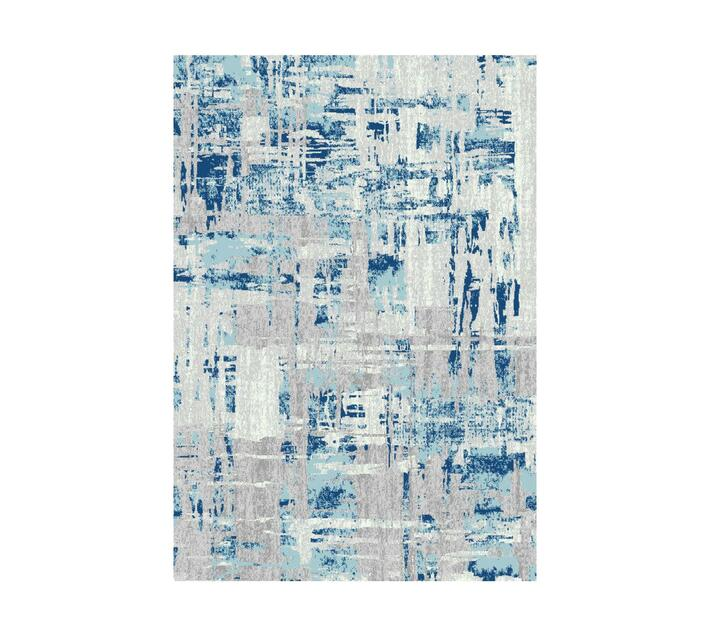 Zenith Rug - Winter Abstract Turquoise 290cm x 200cm