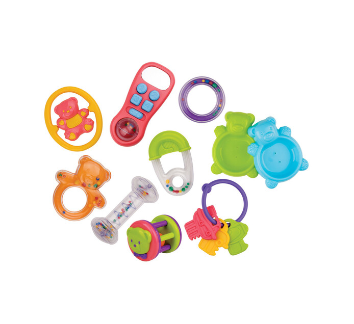 Redbox 10-Piece Infant Toy Set