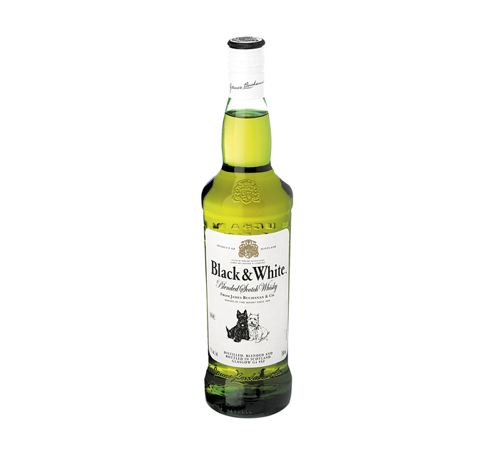 Black & White Scotch Whisky (1 x 750ml)