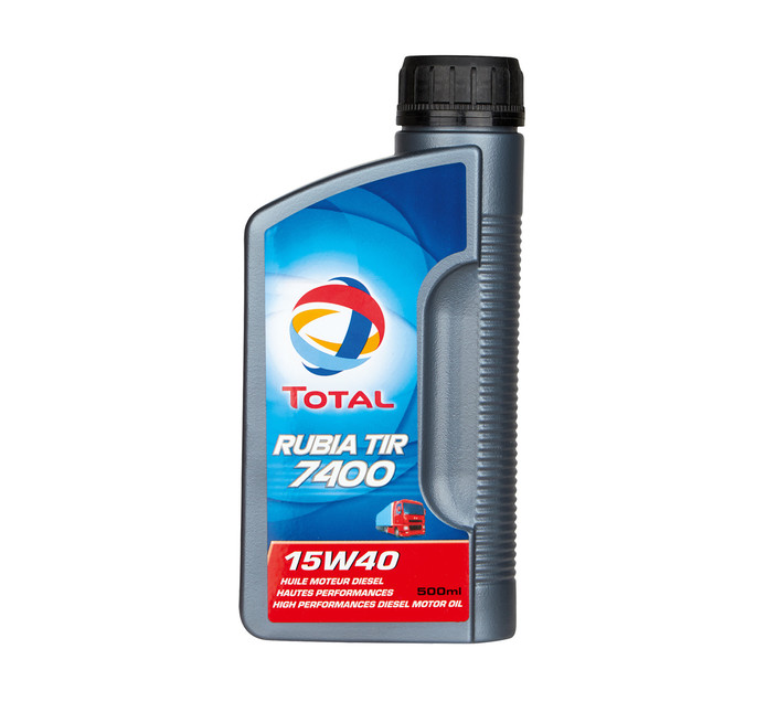 Total 500ml Rubia  7400 15W40