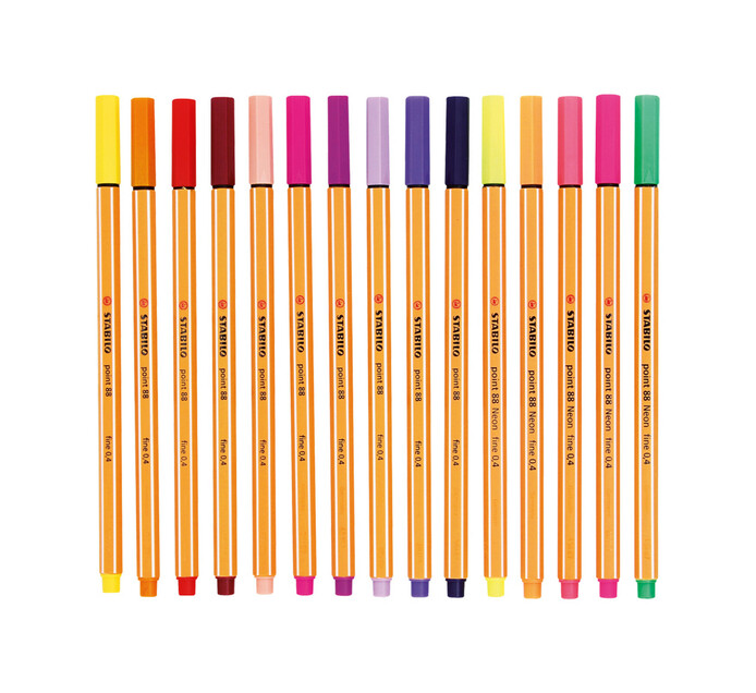 Stabilo Point 88 Fineliners Assorted 25+5-Pack Assorted