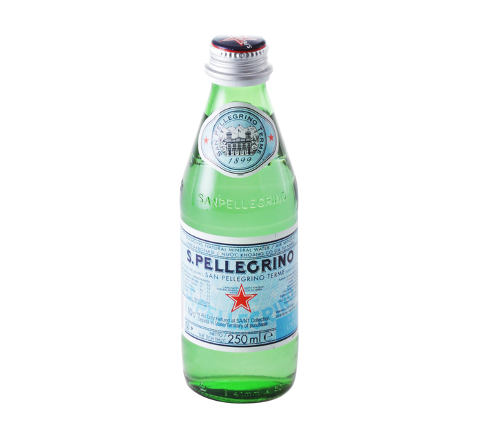 San Pellegrino Sparkling (Glass) (24 x 250ml)