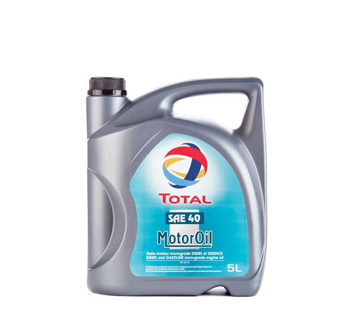 Total 5L Motor Oil SAE40