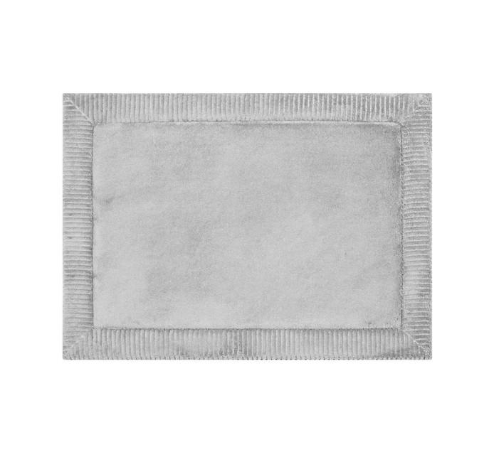 Home Living 43 x 60 cm Verona Memory Foam Mat Silver