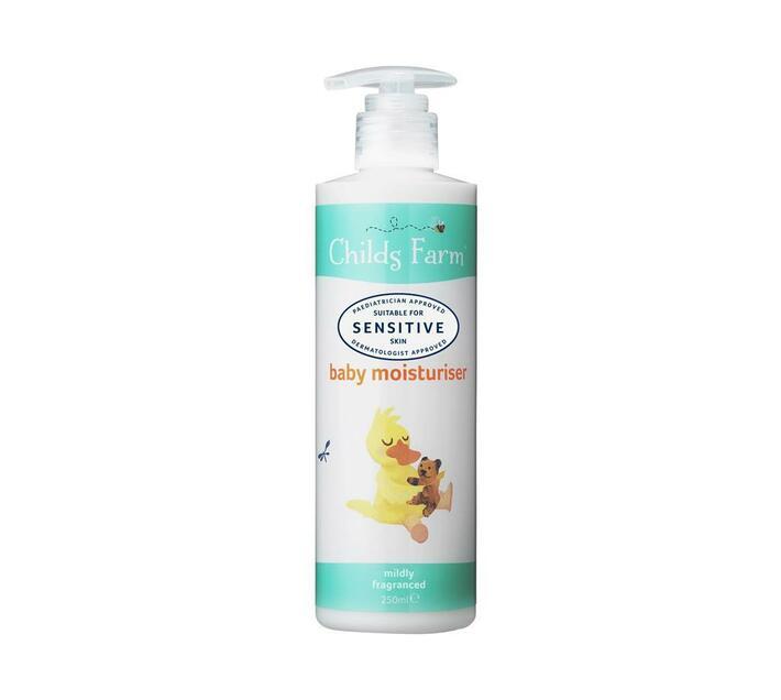 Baby moisturiser, unfragranced 250 ml