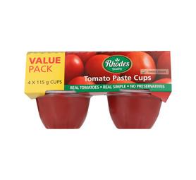 RHODES Tomato Paste Value Pack (1 x 460g)