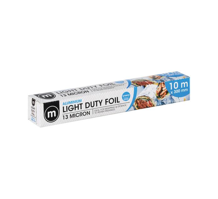M Brand Light Duty Foil 300mm (1 x 10m)