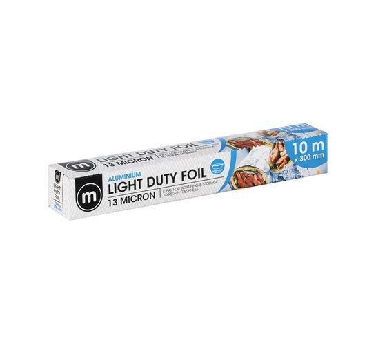 M Light Duty Foil 300mm (1 x 10m)