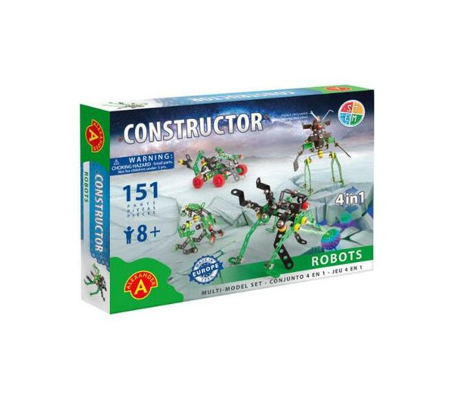 Constructor - Robots - 4 in 1