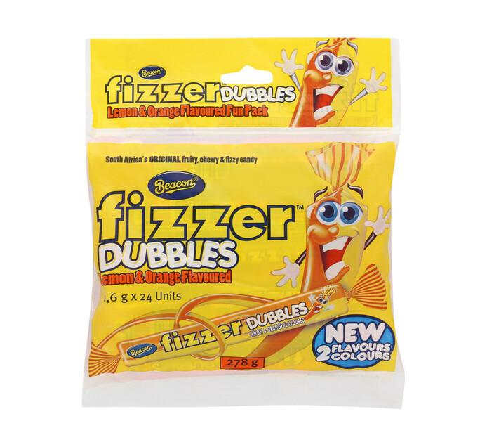 Beacon Fizzers Lemon and Orange (1 x 24's)