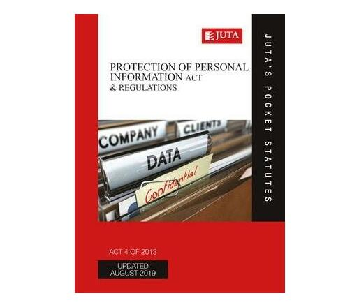Protection of Personal Information Act 4 of 2013