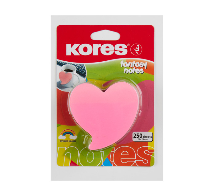 Kores Heart Fantasy Notes Assorted