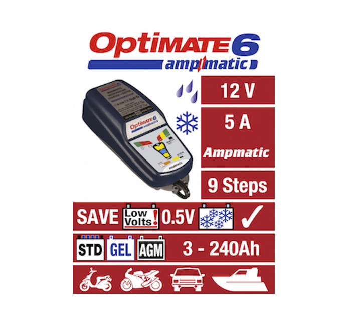 Optimate 12 V Ampmatic Battery Charger