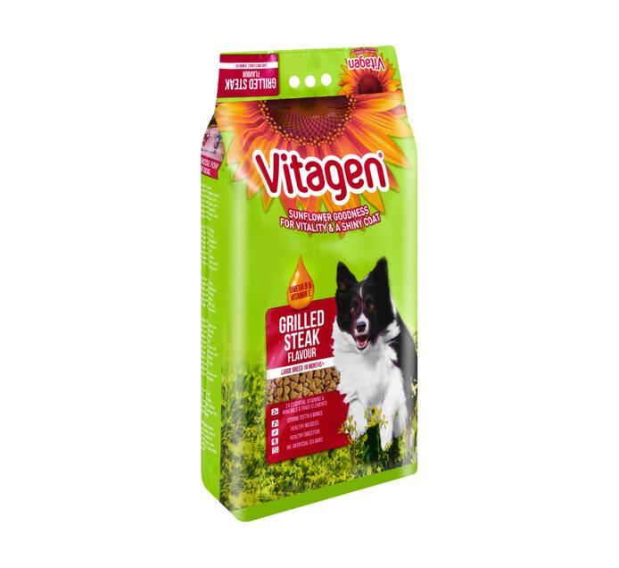 Vitagen Dry Dog Food Steak (1 x 8kg)