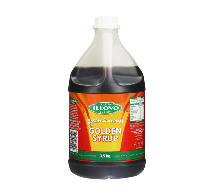 ILLOVO GOLDEN SYRUP 3.5KG CP