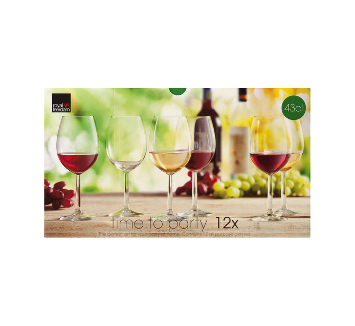 Royal Leerdam 12-Piece Time to Party Wine Set