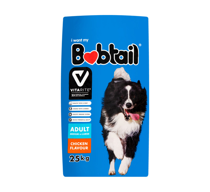 Bobtail Dry Dog Food Chicken (25kg)