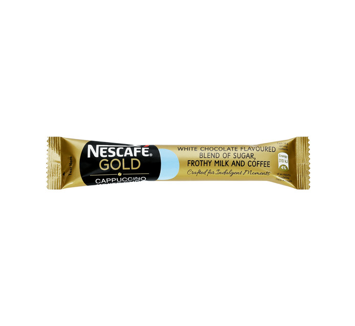 Nescafe Gold Cappuccino Coffee White Chocolate (20 x 18g)