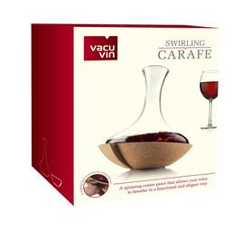 VACU VIN Swirling Wine Carafe ()