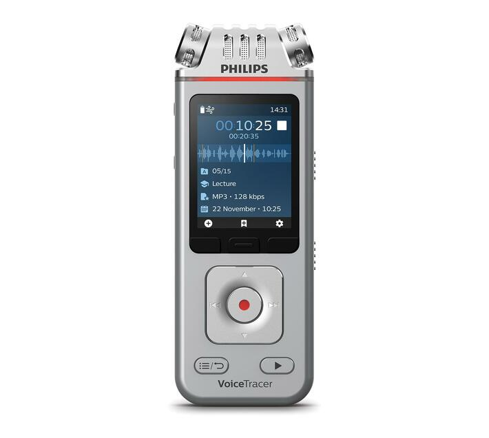 DVT4110 8GB Voice Recorder for lectures and interviews