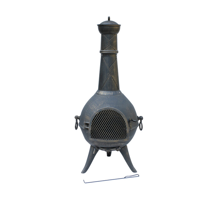 Terrace Leisure Cast Iron Chiminea
