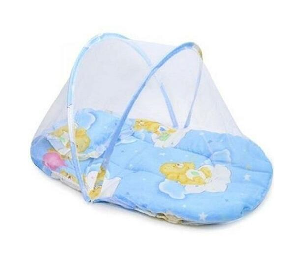 Totland Baby Small Pop Up Sleeping Mosquito Bed/Tent - Blue