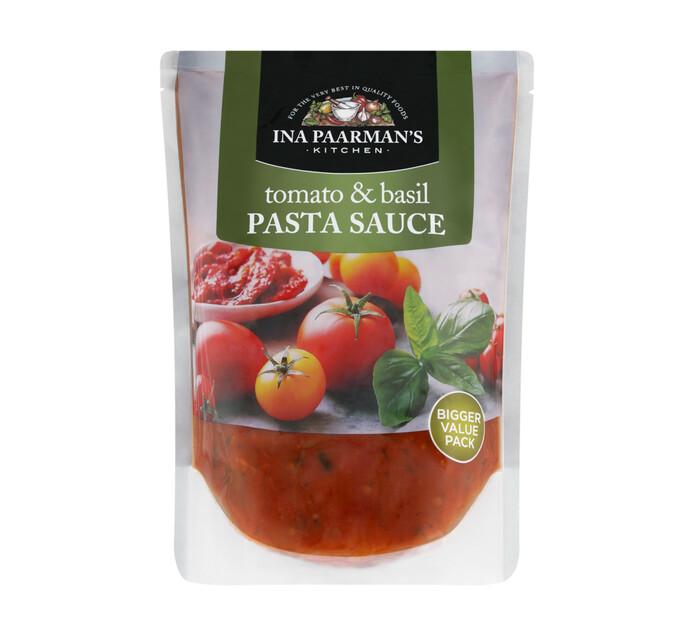Ina Paarman Pasta Sauce Tomato and Basil (1 x 600g)