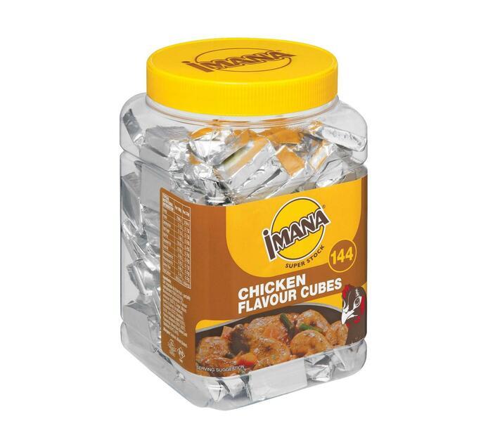 Imana Stock Cubes Jar Chicken (6 x 144's)
