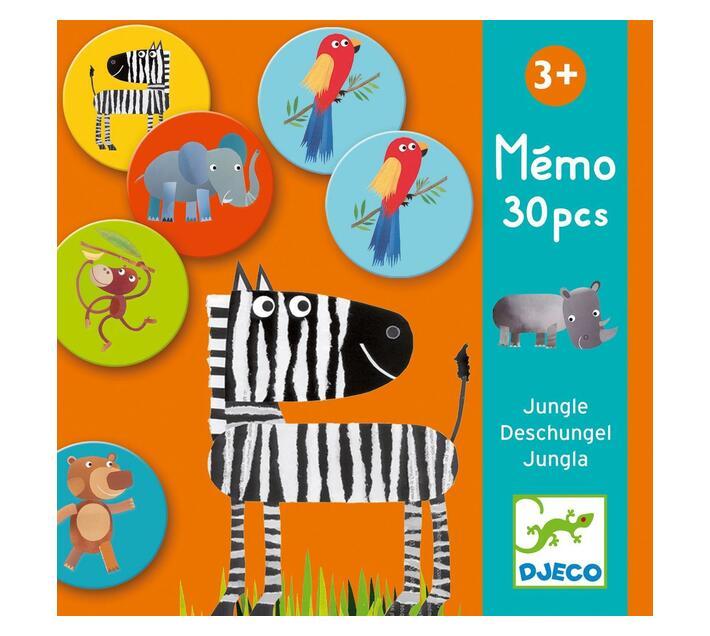 Djeco Memory Game- Memo Jungle
