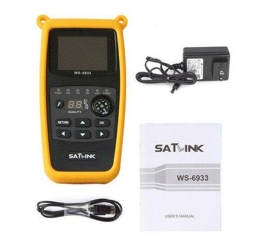 Satlink WS-6933 Satellite Signal Finder 2.1 LCD DVB-S2