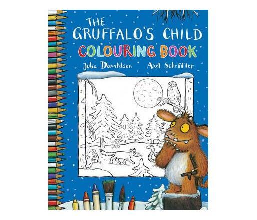 Gruffalos Child- Colouring Book