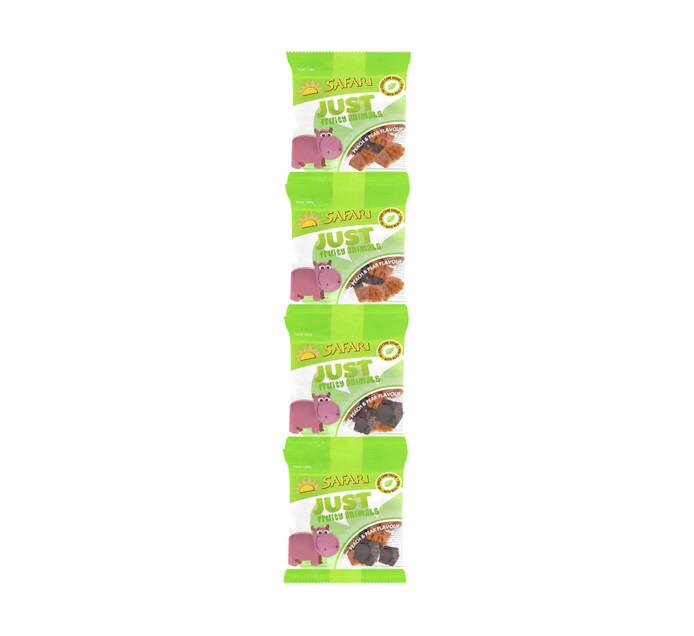 Safari Fruit Snacks Just Fruity Mini Animals (1 x 4'S)