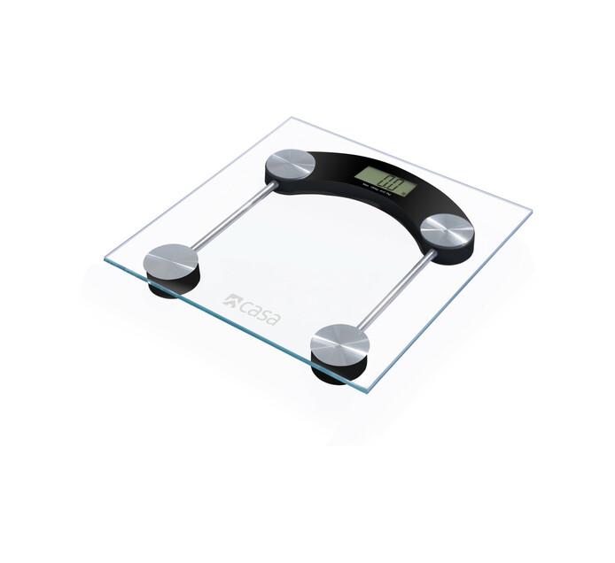 Casa Electronic Glass Bathroom Scale