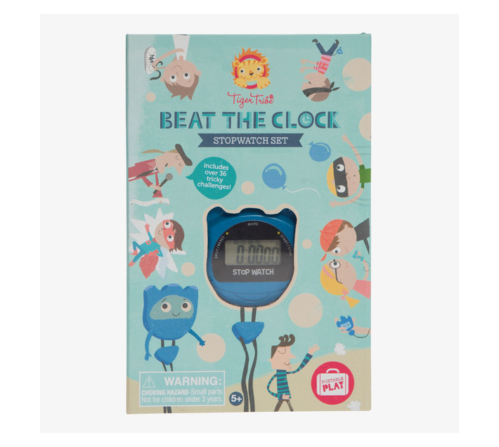 Tiger Tribe Beat the Clock- Stopwatch Set