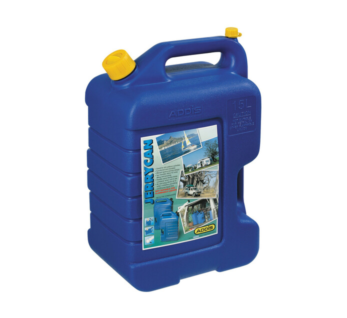 Addis 15 l Plastic Water Jerry Can