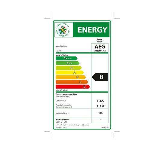 AEG 900 mm 5-Burner Gas/Electric Stove