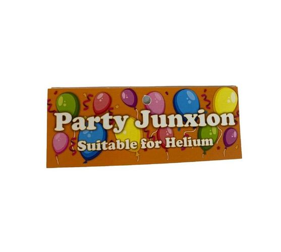 Party- Junxion Latex Helium Balloons - Silver Grey - Pack of 12