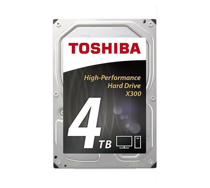 Toshiba X300 - hard drive - 4 TB - SATA 6Gb/s
