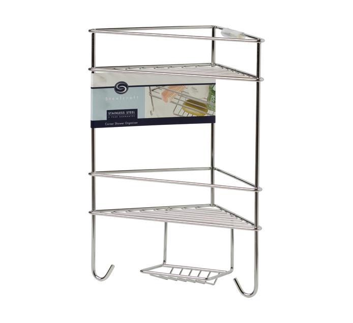 Steelcraft Corner Shower Organizer