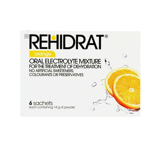 Rehidrat Hydration Powder Orange (1 x 6's)