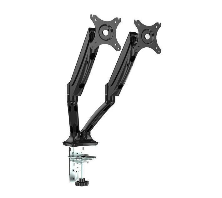 Flexispot F7DB Dual Screen Height Adjustable Monitor Arm Mount