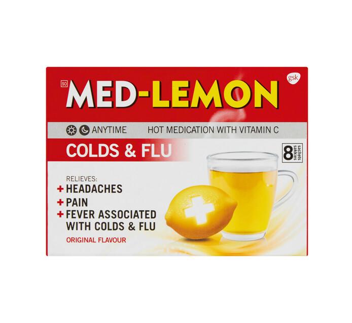 Med Lemon Cold & Flu Vit. C (1 x 8's)