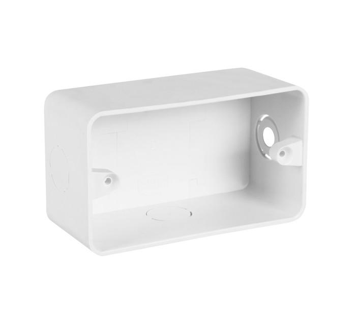 Proton 50 mm x 100 mm PVC Flush Wall Box