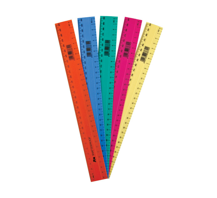 Croxley 30 cm 30cm Shatterproof Rulers 10-Pack | Measuring Access | Rulers  & Geometry Sets | Rulers & Geometry Sets | Stationery Supplies | Stationery  & Office Furniture | Makro Online Site