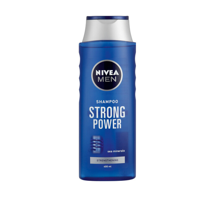Nivea Men Hair Shampoo Strong Power (6 x 400ml)