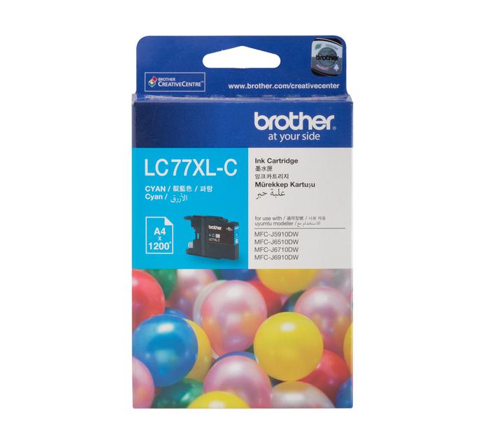 Brother 77XL Cyan Ink Cartridge