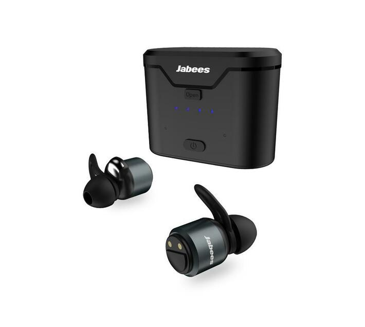 Jabees BTwins True Wireless Stereo Aluminum Earbuds – Black